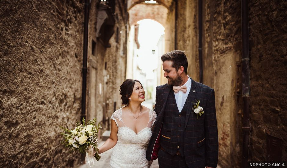 James and Carol's Wedding in Arezzo, Italy