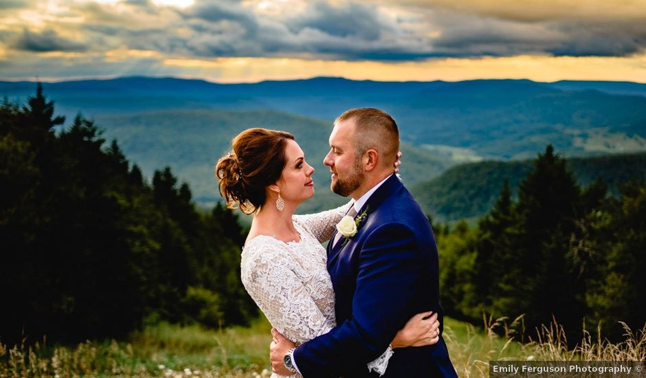 Eric and Ashley's Wedding in Snowshoe, West Virginia
