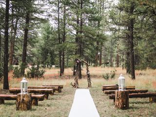 The wedding of Jen and Matt 1
