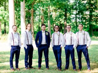 Erin and Andrew's Wedding in Maryville, Tennessee 7