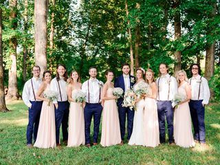 Erin and Andrew's Wedding in Maryville, Tennessee 20