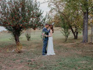 The wedding of Melissa and Aaron