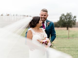 The wedding of Christina and Jeremy