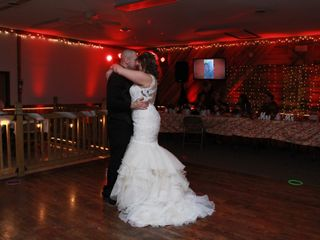 The wedding of Shawn and Jenessa