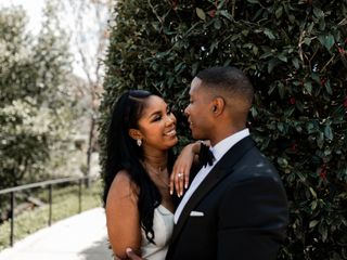 The wedding of Ashley and De'On
