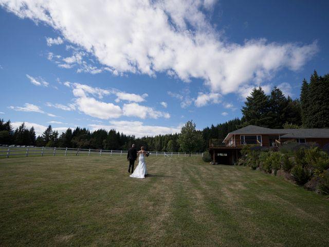 Zach and Samantha's Wedding in Stevenson, Oregon 1