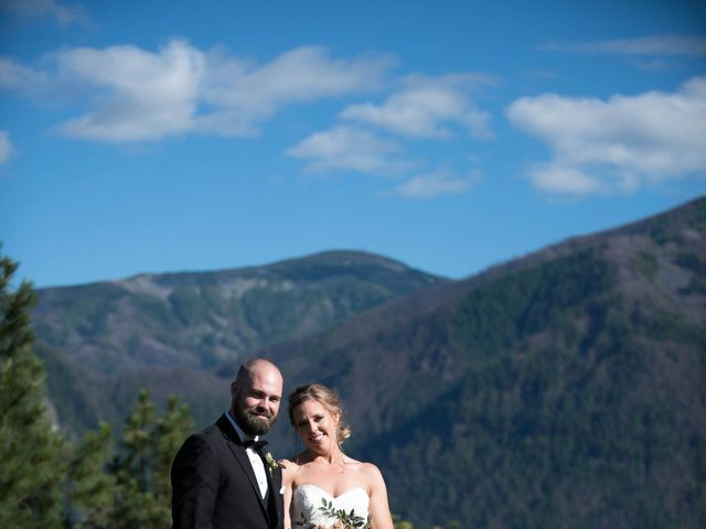 The wedding of Samantha and Zach