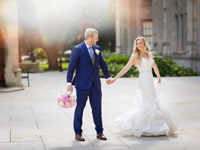 The wedding of Megan and Matt