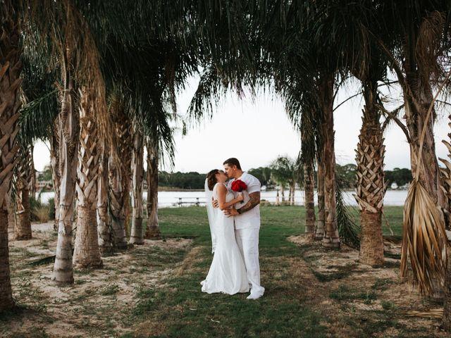 The wedding of Rachael and Brett