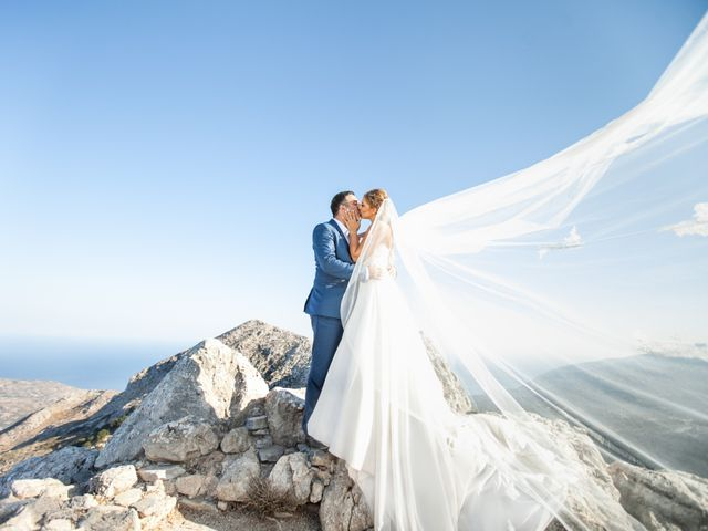 Manos and Sandy's Wedding in Athens, Greece 24