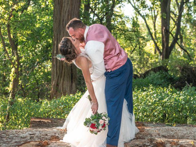 The wedding of Aaron and Katrina