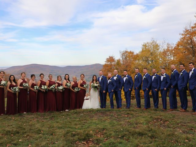 Troy and Samantha's Wedding in Windham, New York 14