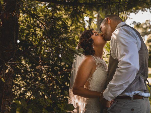 The wedding of Franci and Matt