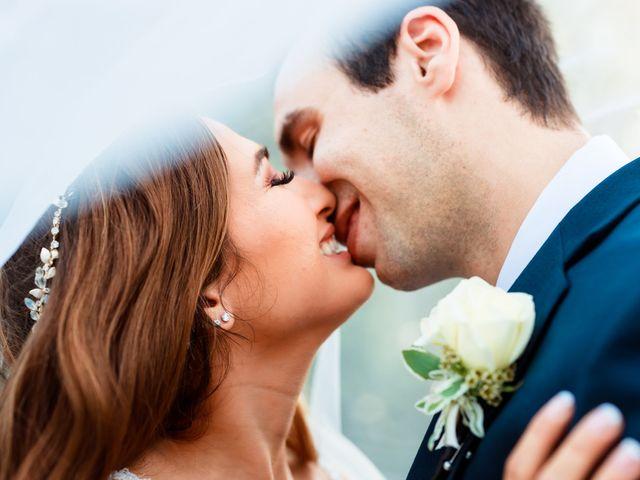 The wedding of Carolina and Noah