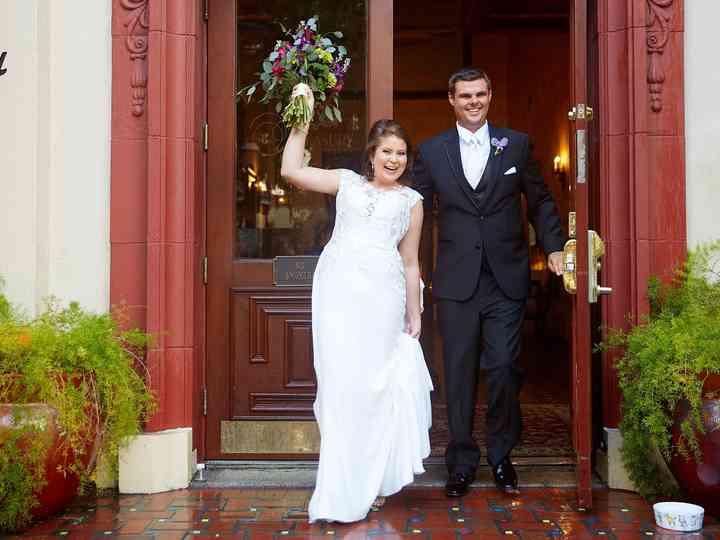The wedding of Brandie and Josh