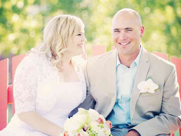 The wedding of James and Jessica