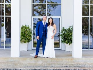 The wedding of Hunter and Chelsea