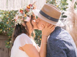 The wedding of Pedro and Roberta