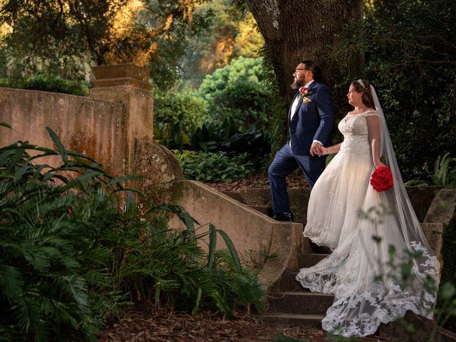 The wedding of Nicki and Jonathan