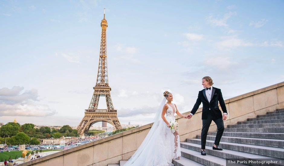 Randy and Arnella's Wedding in Paris, France