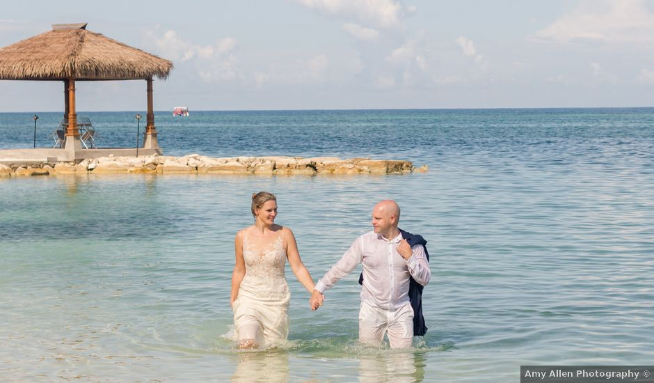 Brian and Melissa's Wedding in Montego Bay, Jamaica