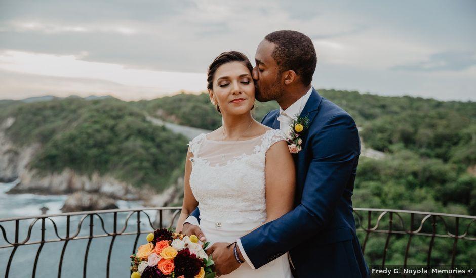 Jonathan and Arena's Wedding in Bahias De Huatulco, Mexico