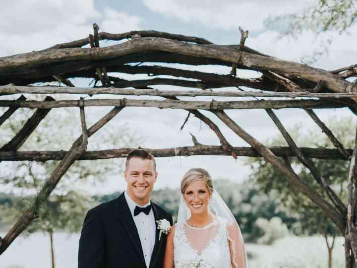 The wedding of Aaron and Margaret