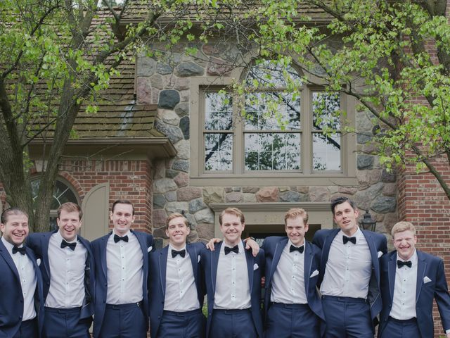 Mallory and Christopher's Wedding in West Bloomfield, Michigan 8