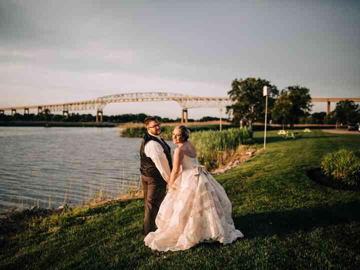 The wedding of Ashleigh and Matt