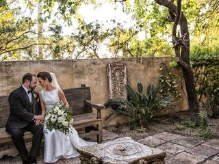 The wedding of Roxanne Schuster and Gus Khalifa