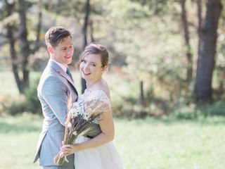 The wedding of Annie and Elliott