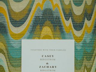 The wedding of Casey and Zach 1