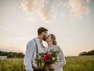 The wedding of Mareika and Dalton