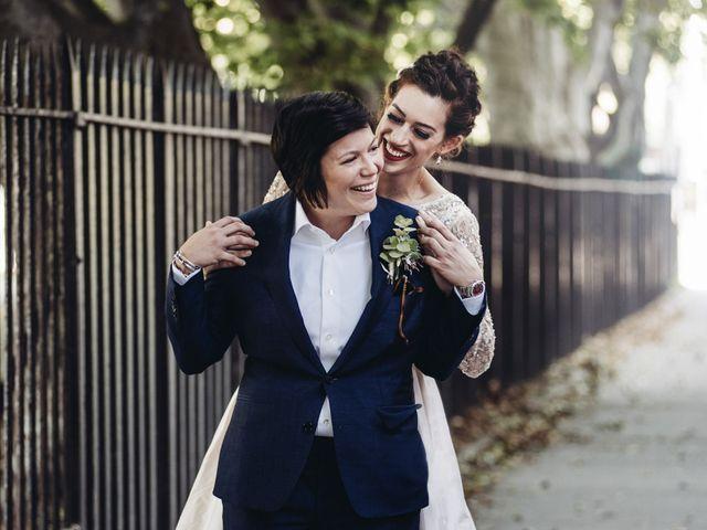 The wedding of Krizia and Mia