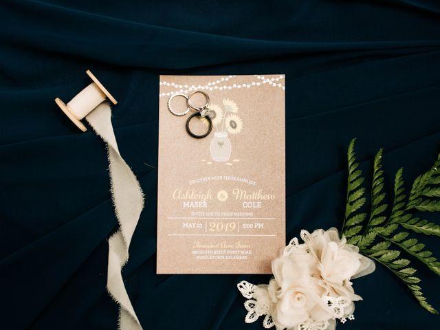 Matt and Ashleigh's Wedding in Odessa, Delaware 1