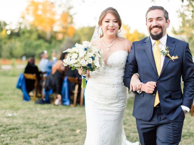 The wedding of Ashley and Mac