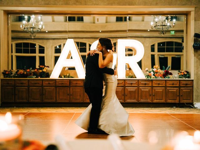 The wedding of Amir and Rachael