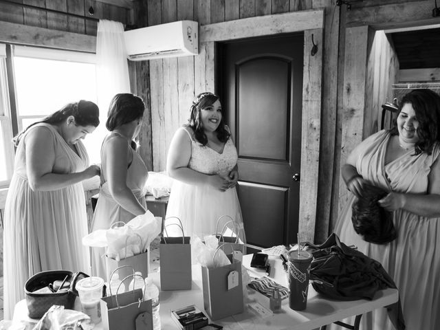 Jake and Autumn's Wedding in Meadowview, Virginia 7