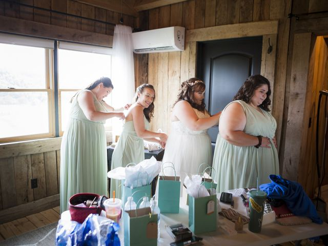 Jake and Autumn's Wedding in Meadowview, Virginia 13
