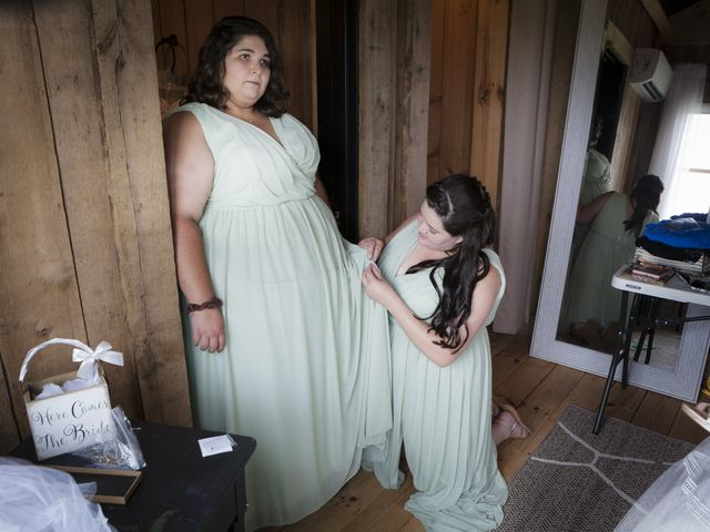 Jake and Autumn's Wedding in Meadowview, Virginia 15