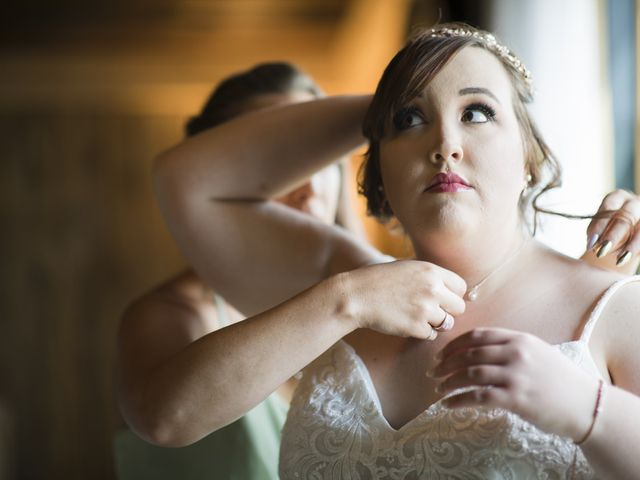 Jake and Autumn's Wedding in Meadowview, Virginia 17