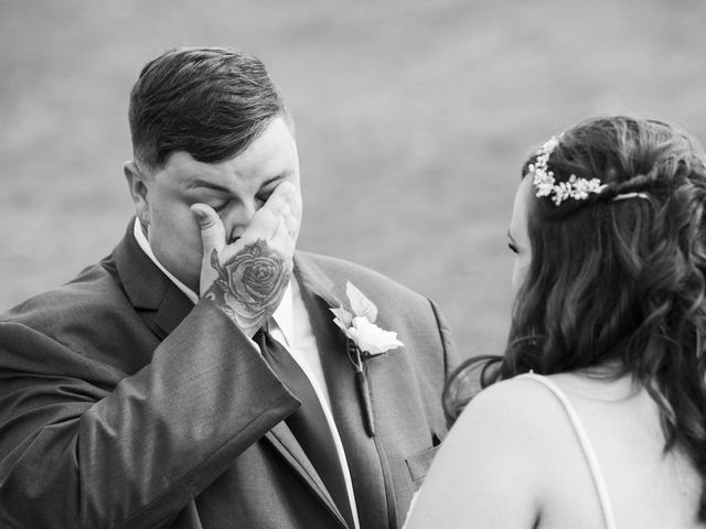 Jake and Autumn's Wedding in Meadowview, Virginia 24