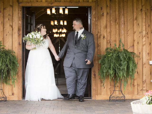 The wedding of Autumn and Jake