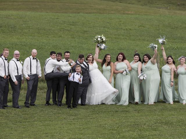 Jake and Autumn's Wedding in Meadowview, Virginia 36