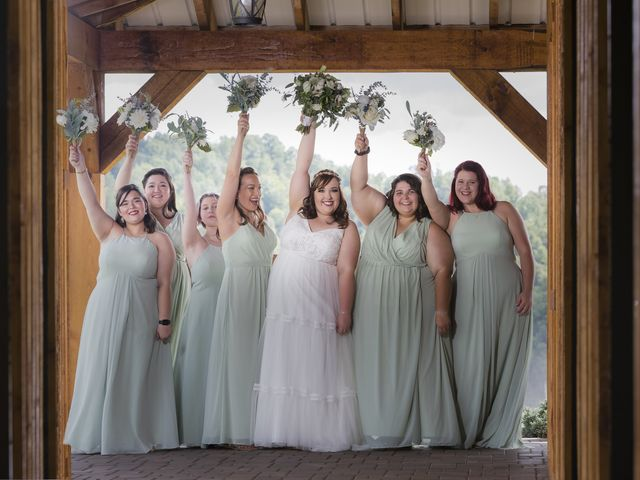 Jake and Autumn's Wedding in Meadowview, Virginia 42