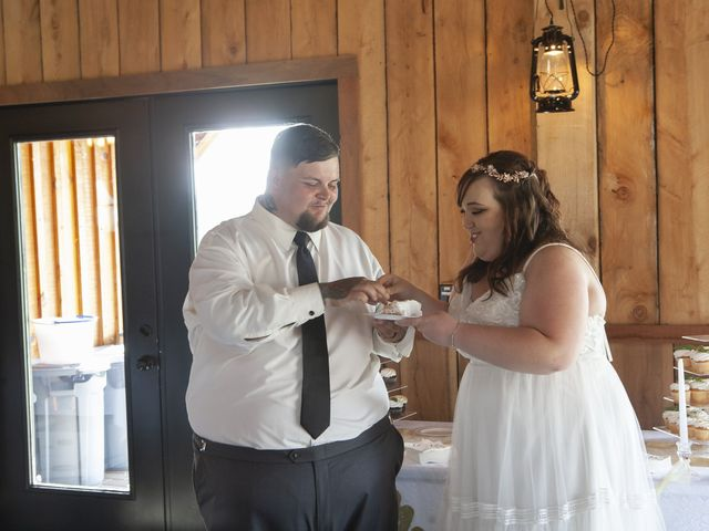 Jake and Autumn's Wedding in Meadowview, Virginia 48