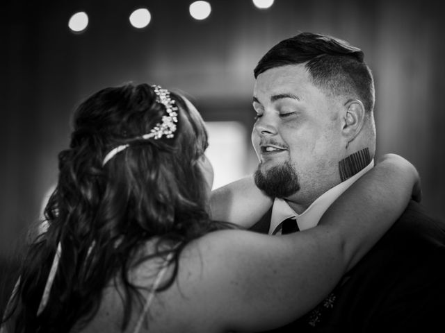 Jake and Autumn's Wedding in Meadowview, Virginia 56
