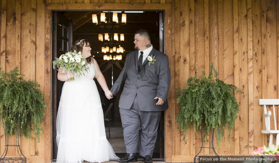 Jake and Autumn's Wedding in Meadowview, Virginia