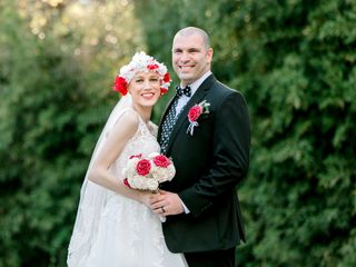 The wedding of Laurin and Michael 1