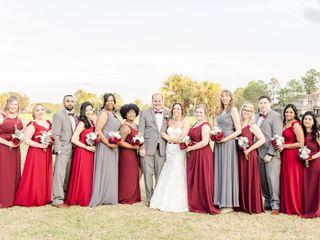 The wedding of Sarah and Cameron 1